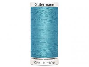 Fil à coudre Gütermann 500m col : 714 bleu éclairé