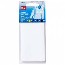 Thermocollant percale Blanc