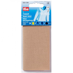 Thermocollant percale Chamois