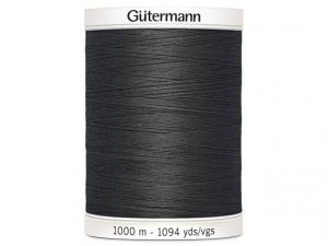 Fil à coudre Gütermann 1000m col : 036 gris foncé