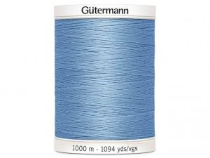 Fil à coudre Gütermann 1000m col : 143 bleu clair