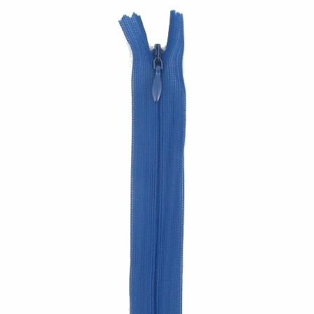 Fermeture invisible 60cm Bleu Foncé