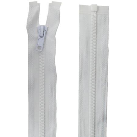 Fermeture injecté 150cm Blanc