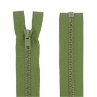 Fermeture injecté 45cm Vert Armée