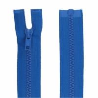 Fermeture injecté 60cm Bleu Roy