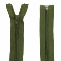 Fermeture Spirale 40cm Vert Armée