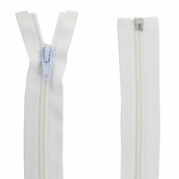 Fermeture Spirale 70cm Blanc