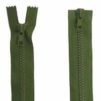 Fermeture  double curseur 80cm Vert armée