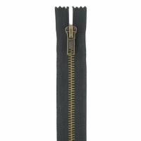 Fermeture jeans 20cm Noir